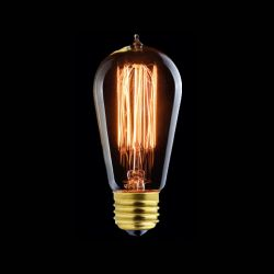 Ampoule Vintage Edison Filament Zig Zag