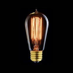 Edison Vintage bulb Zig Zag Filament