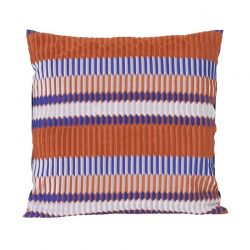 Coussin carré Pleat Rouille Ferm Living