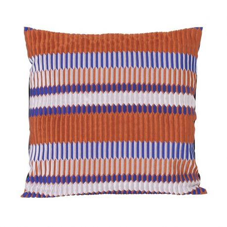Square cushion Pleat Rust Ferm Living