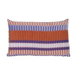 Coussin Rectangle Pleat Rouille Ferm Living