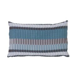 Coussin rectangle Pleat Turquoise Ferm Living