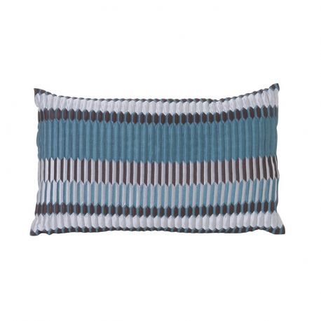 Rectangular turquoise cushion Ferm Living