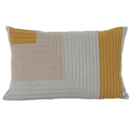 Rectangular cushion Ferm Living Angle Curry