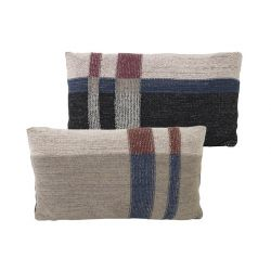 Little Medley Dark Blue Rectangle Cushion Ferm Living