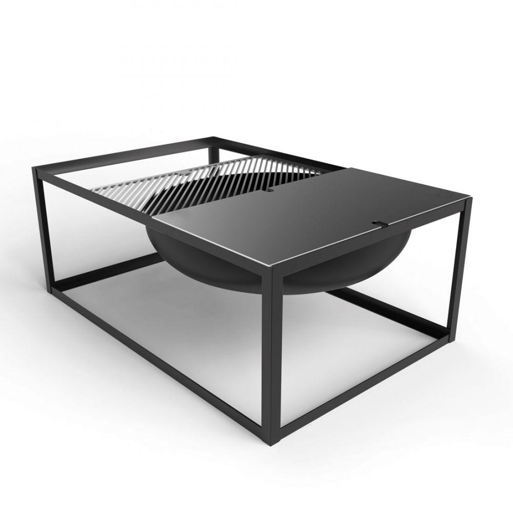 barbecue brasero design en acier slide par konstantin slawinski