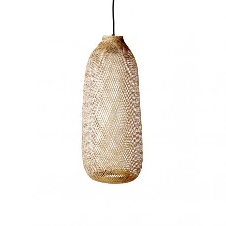 Suspension longue en bambou Bloomingville