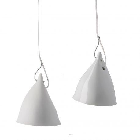 Porcelain Cornet lamp