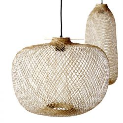 Chaw bamboo hanging lamp Bloomingville