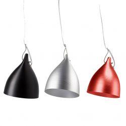 Suspended Cornet lamp in alu