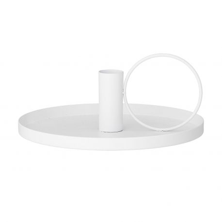 Design white candlestick