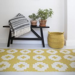 Tapis de couloir Flower