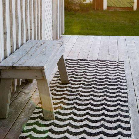Outdoor plastic rug