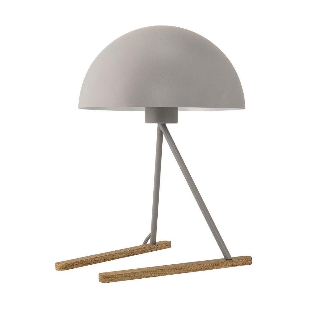 bloomingville luminaire lampe design poser grise chez pure deco. Black Bedroom Furniture Sets. Home Design Ideas