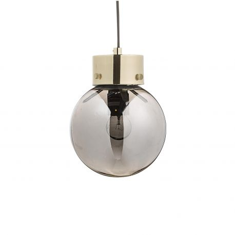 Bloomingville glass ball hanging lamp
