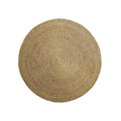 Round seagrass rug Bloomingville