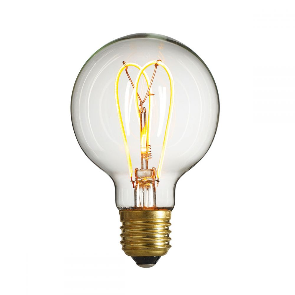 Decorative Led Filament Bulb Nud Globe Bulb