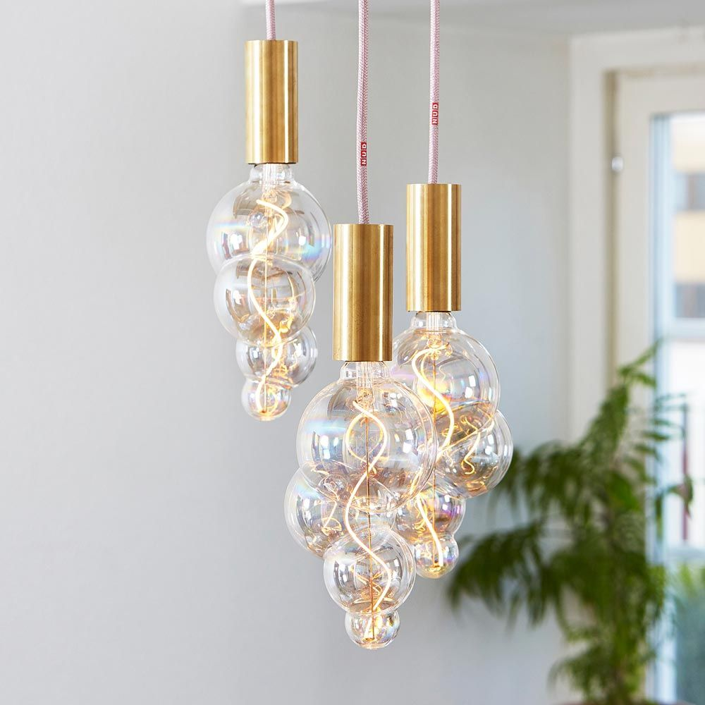 Design Filament Led Bulb Bubble Decor Bulb Nud Collection