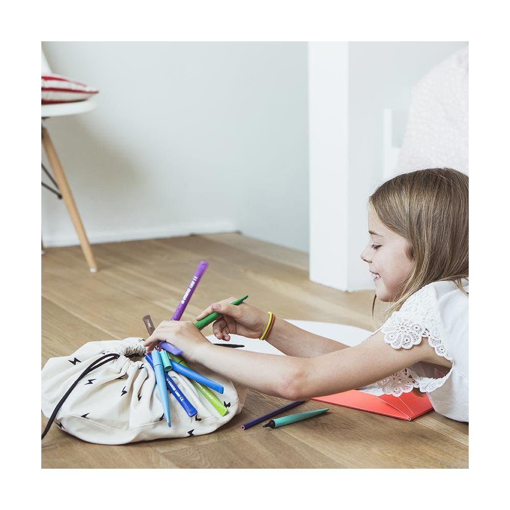 petit sac de rangement multifonction thunderbolt play and go. Black Bedroom Furniture Sets. Home Design Ideas