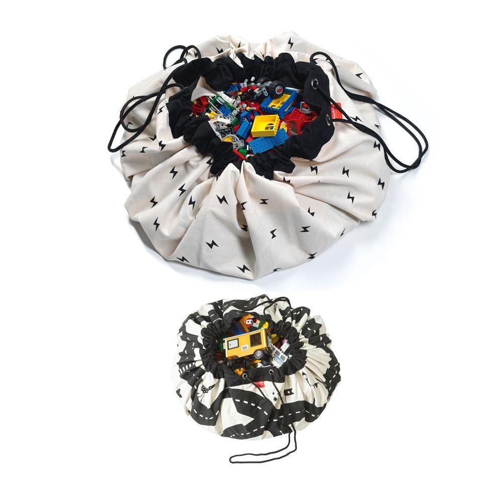 sac jouets et tapis de jeu voiture play and go circuit. Black Bedroom Furniture Sets. Home Design Ideas