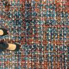 Design multicolored rug
