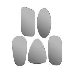 5 Miroirs fumés Art Glass Broste Copenhagen