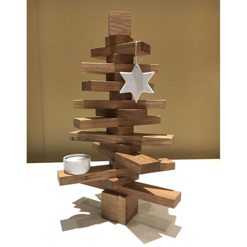 Christmas Tree Done: Do-it-yourself Christmas Tree In Wood By Raumgestalt