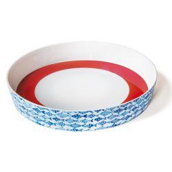 Round dish Fish