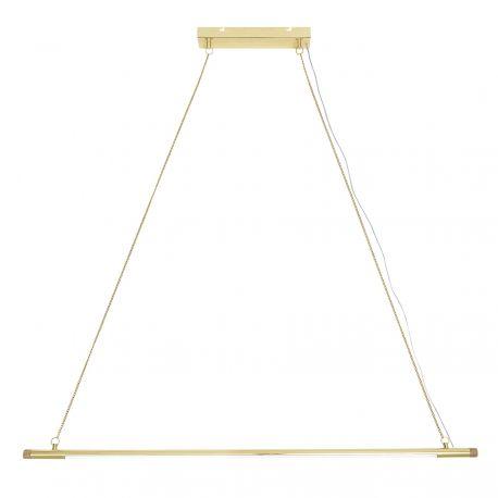 Geometric metal pendant