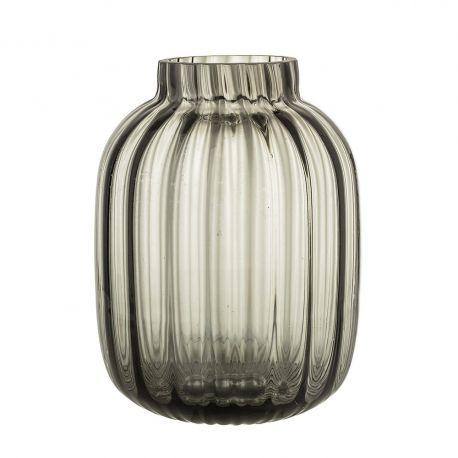 Vase ovale en verre