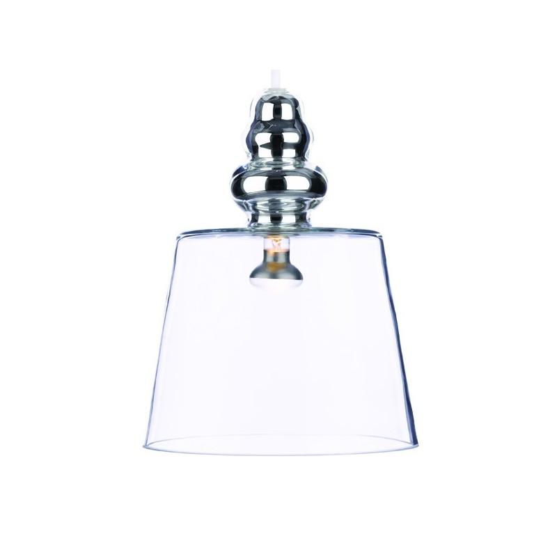 lustre en verre pollish le lustre au design contemportain. Black Bedroom Furniture Sets. Home Design Ideas