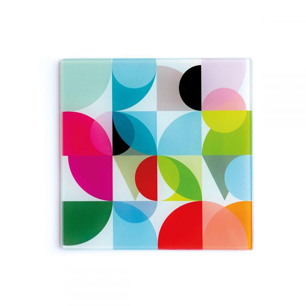 Repose plat en verre design Remember - collection Solena