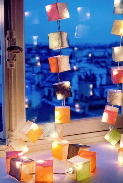 LED Photo Guirlande Lumineuse avec Clips Multicolore Noël Maison Décor Cadeau
