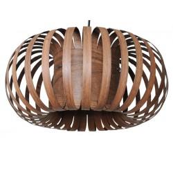 suspension lumineuse bois