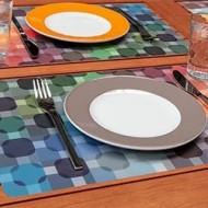 sets de table originaux et design en plastique ou jetable. Black Bedroom Furniture Sets. Home Design Ideas